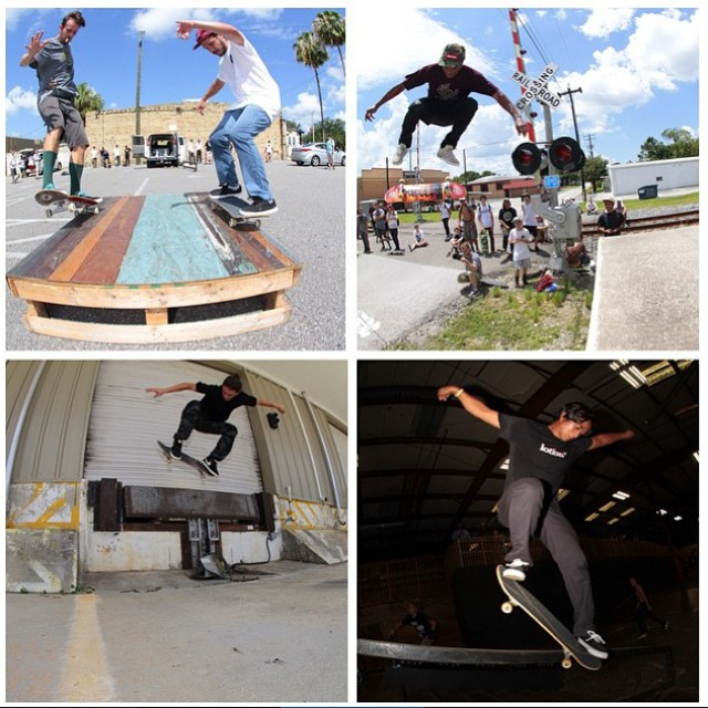 Rad day in Tampa, Florida with @spottampa for the #DCGlobalSkateJam! Thanks to everyone that came out! #DCShoes