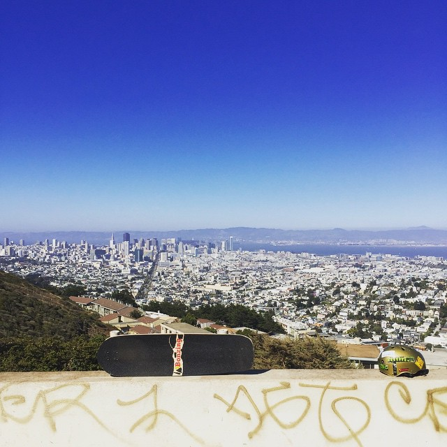 I might get old but this shit doesn't!  Hope everyone had a kickass go skateboarding day!  #bonzing #sanfrancisco