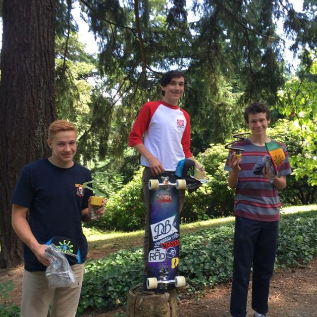Congrats to team rider Emmett White on taking 1st place in the junior division at Switchbacks today and 10th in the open division. Photo by @pdxdownhill #portland #pdx #switchbacks #longboard #longboarding #longboarder #dblongboards #goskate #shred...