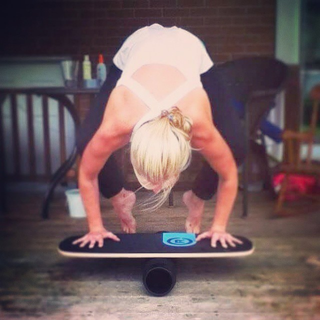 Happy International Yoga Day! #revbalance #findyourbalance #balanceboards #madeinusa #yoga #yogaday #internationalyogaday