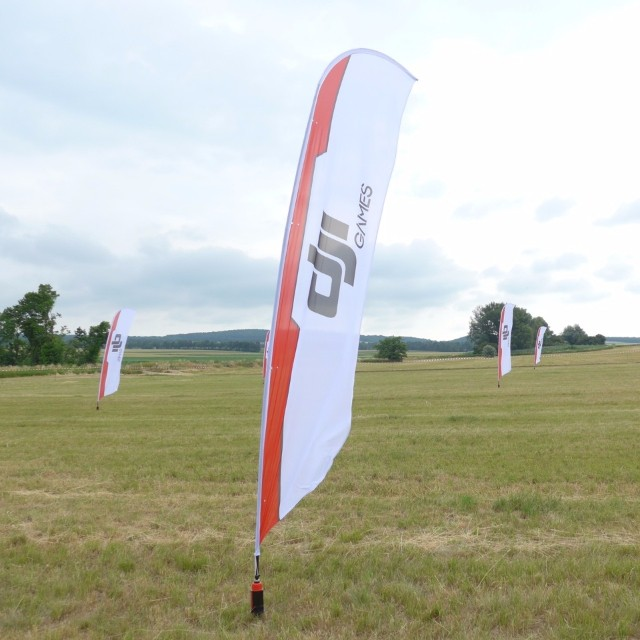 Over the weekend #DJI launched its first #DJIGames in Spitzerberg, Austria.  Phantom pilots raced against each other for the ultimate glory.  Next stop: The USS Hornet on June 25.  Learn more event.dji.com/games