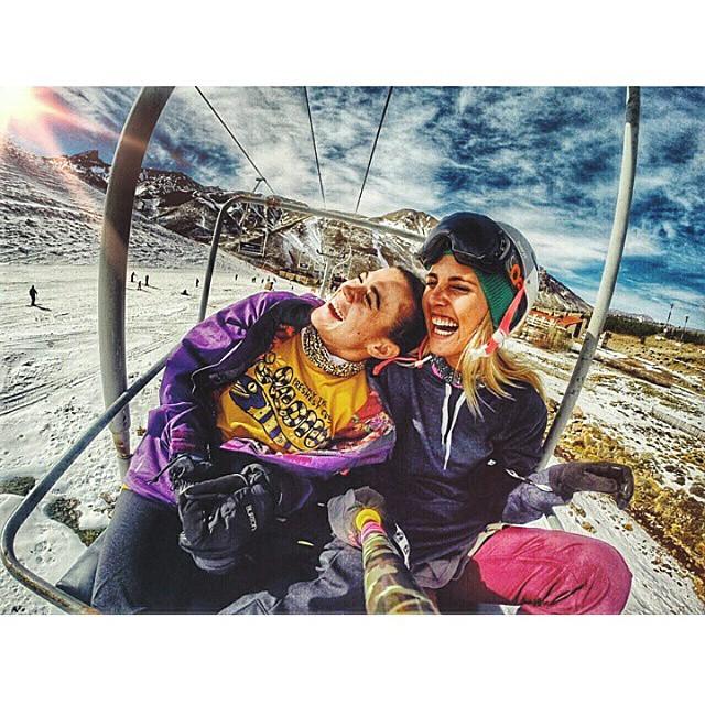 @lolitamoran y @barbaraperezw ya se prepararon para este invierno! Con nuestros #ZephyrPole y #ZephyrBuff !!