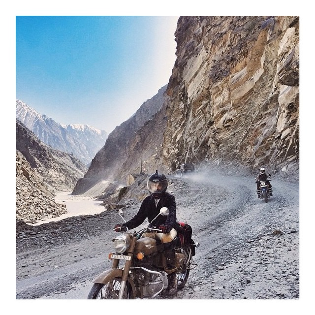 """You never know what you are capable of unless you try""⚡️ This regram via @kisjayenn has us lusting for adventures in India"