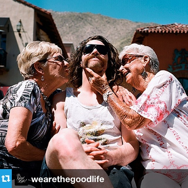 Too good not to share... @travelindan shot by our pal Cole Barash @nomadda #regram from @wearethegoodlife Congrats Danny! #xgames #grannypower