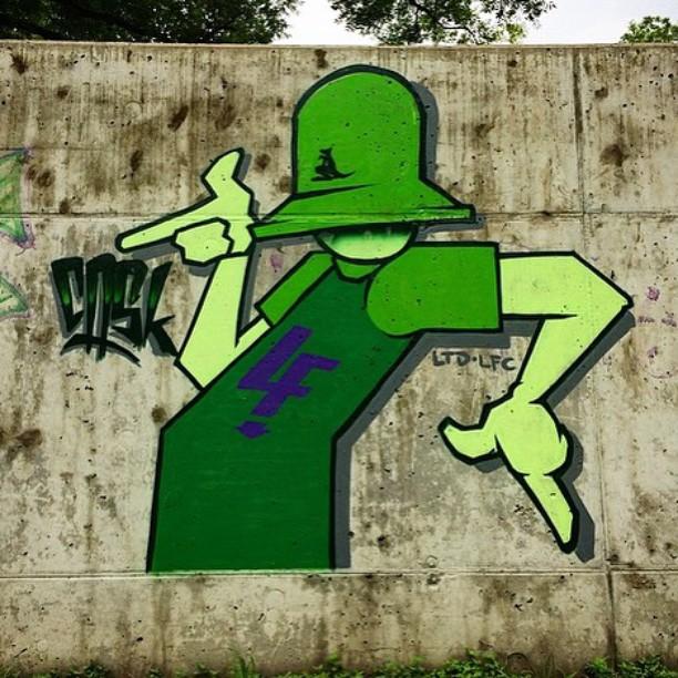 Tha real Killah.... @killahcaskone • • #atx #austintx #texas #tx #ltd #lfc #caskone #graffiti #grafite #spratx