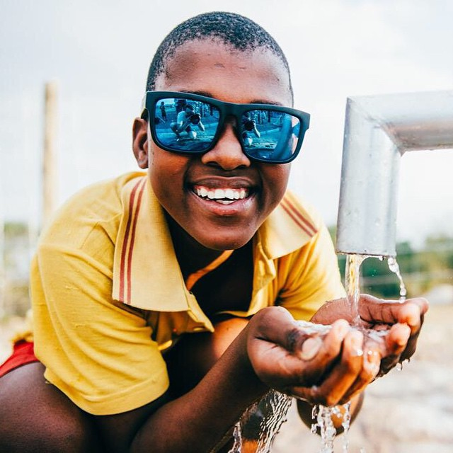It feels even better to #SeeHappy when you know you're helping others.  Purchase any sunglass from www.spyoptic.com from now till June 30 and we'll happily donate $20 per pair towards the @thirstproject's global water projects and local education...