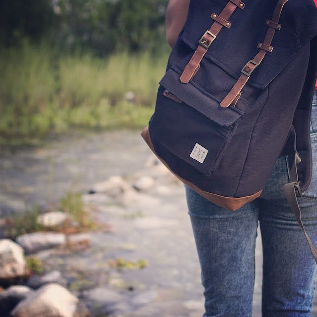 KTM City Bamboo Rucksack. consume consciously. connect globally.