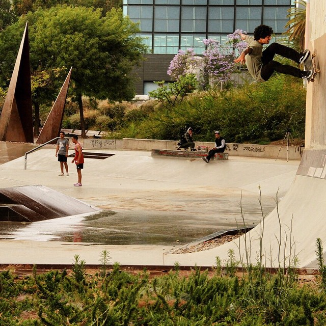 Fs ollie to wall en Barna