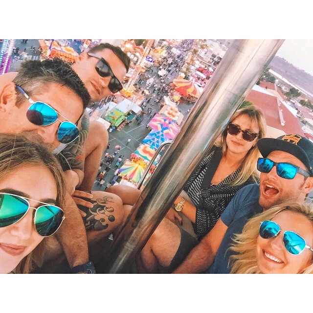 #squadgoals at the Del Mar Fair. Grab a pair of Hoven shades to avoid getting  #fomo