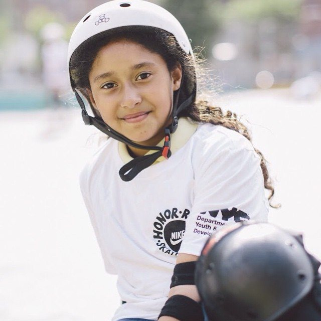It's all about the kids. #happiness #smiles #confidence #ability #potential #challengeyourself #determination #motivation #trynewthings #lifeskills #youth #mentor #volunteer #makeadifference #sk8 #skate #skatergirl #skatelife #nikehonorroll #community...