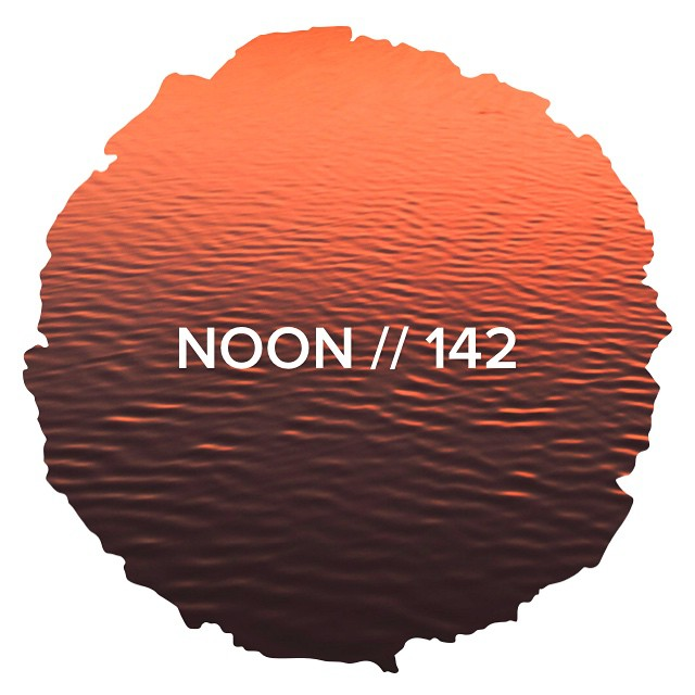 NOON // 142 now playing on the web/Android/iOS ▶️ Dope mixtape cover this week by @patricklipsker