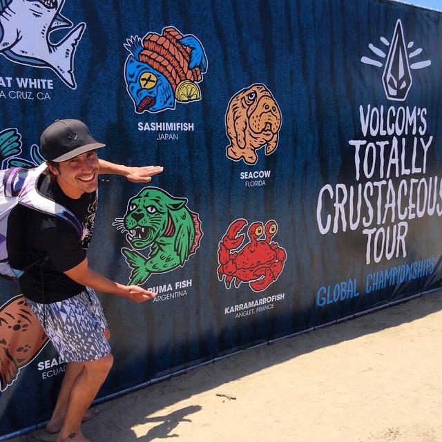 Ya está rodando el Volcom Totally Crustaceous Tour @volcomtct en Lowers, Trestles, California. Seguilo a través de tct.volcom.com en Vivo hay u$s 30.000 de premios!