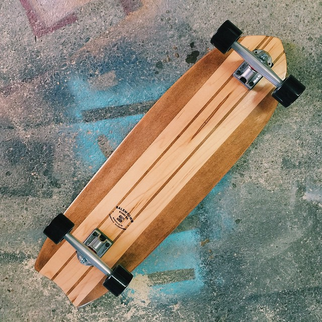 A classic. Perfect for your everyday adventure.  See more about the hybrid shape at the link in the @salemtownboardco profile.  #handmade #skateboards #Nashville #MadeInAmerica #SkateTheEdges