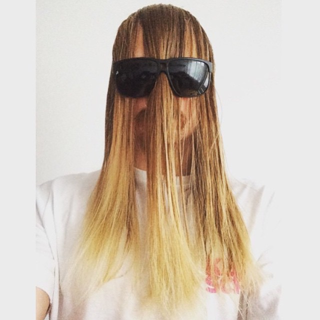 Let your hair down... It's Monday! @hhelgason #VonZipper #Blotto