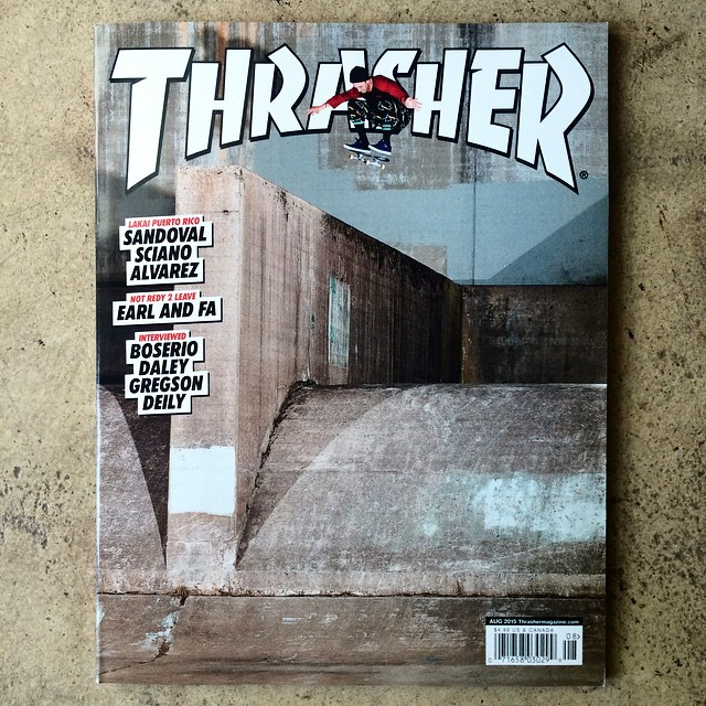 HUGE congrats to @elementcanada rider @saschadaley on landing himself the cover of this months @thrashermag >>> head to your local skate shop and pick one up to peep his whole interview, and stay tuned for his part coming out soon. #saschadaley