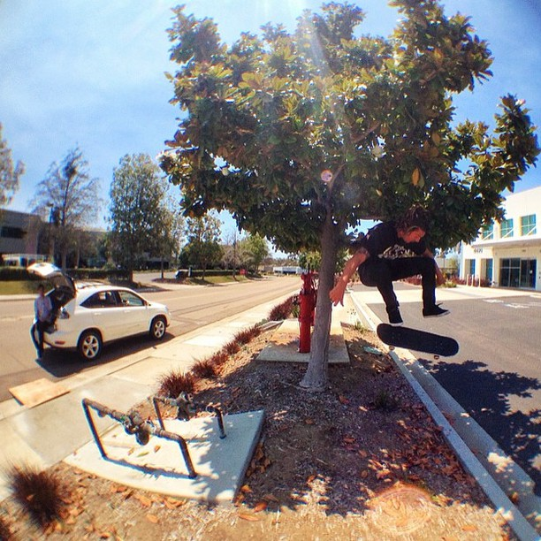 @waylonhendricks #kickflip over this sketchy kicker gap