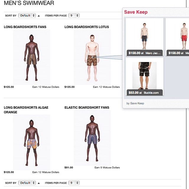 @bantuwax now on Matuse shopping. Go grab some boardies and support beachwear from Africa #lovematuse #bantuwax