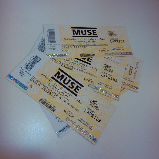 Agarrate, Susanaaaaaa!!!! Prendé la tele, @tornibel, lo que se viene!  #Muse #Argentina #SeViene #TraéPochoclo