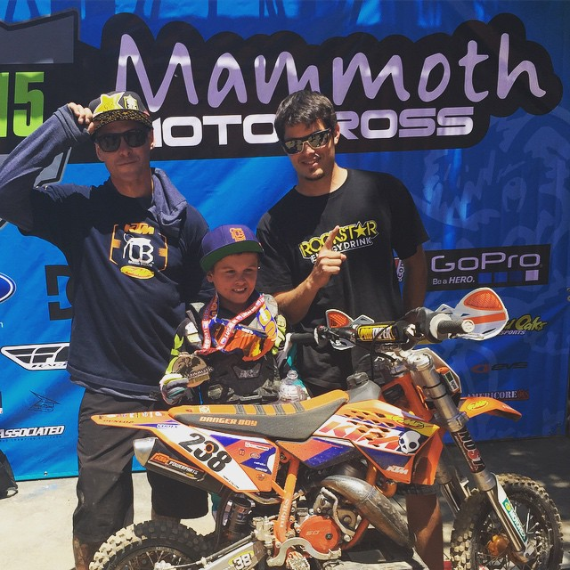@dangerboydeegan pulls it off and #wins at #Mammothmx
