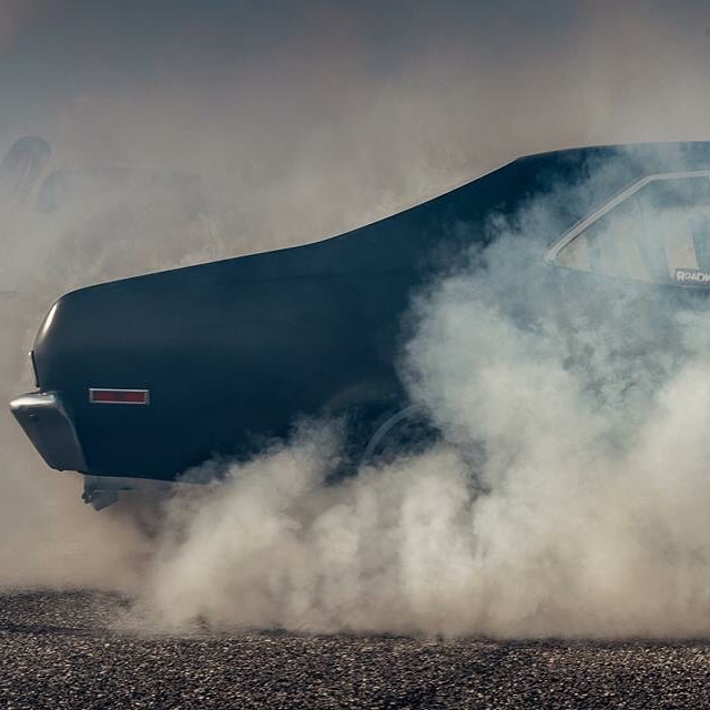 Nuking tires during @hotrodmagazine's #PowerTour2015! If you want to see the full photo by our dude @tony_harmer head over to our Facebook page. #NapalmNova #killalltires