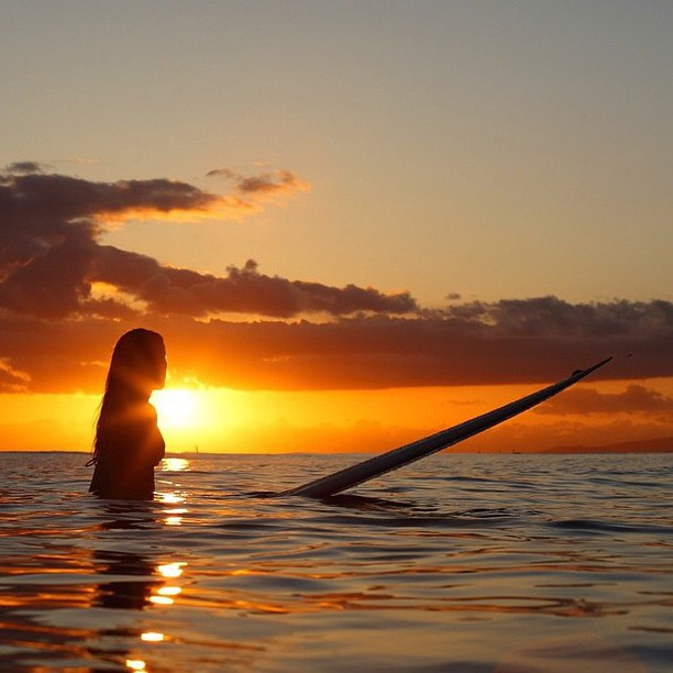 Summer is... sunset surf sessions || sweet