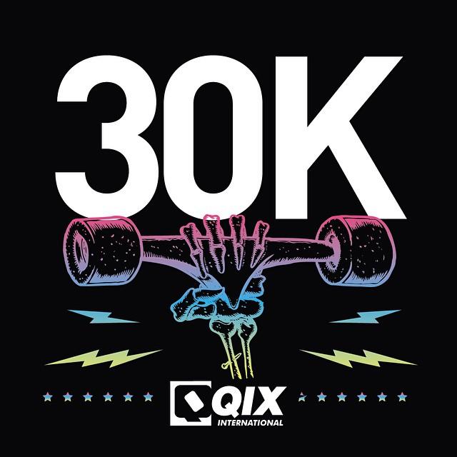 #QIXTeam agora com 30 mil seguidores! Agradecemos a todos que nos seguem!