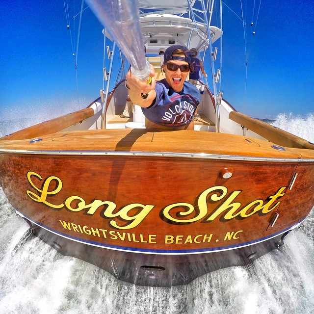 """Long Shot"" Wrightsville Beach, NC. Photo: @ac_unleashed GoPro HERO4 