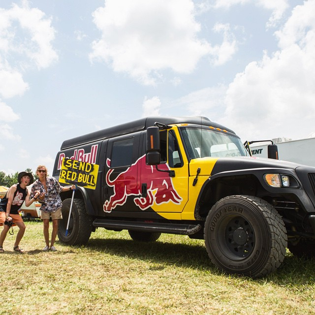 @redbullWHEELS is here! Follow them now & dive into the adventurous lives of our event fleet. #FollowTheFleet