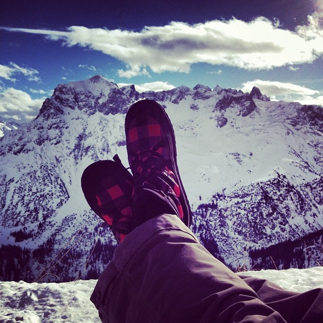 Great shot #relaxing in #pakems in the #Alps  #picoftheday #outdoor #winter #mountains