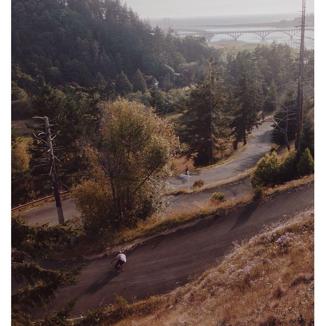 @f_cooper_d sliding down an Oregon gem.
