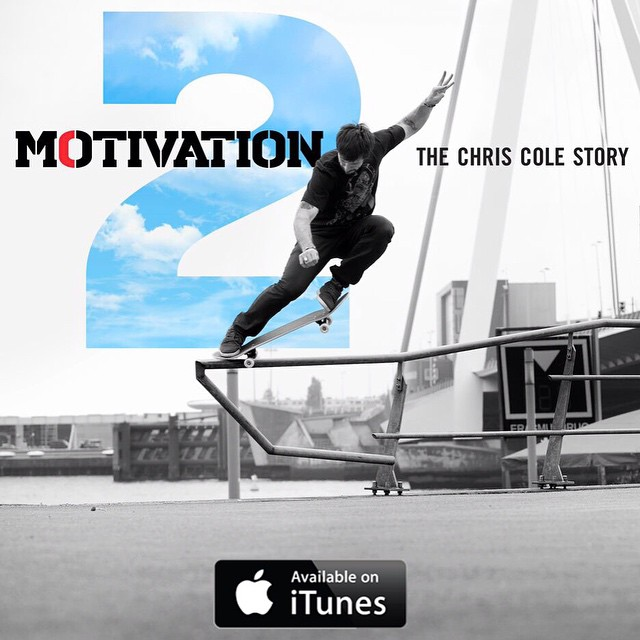 #TheMotivation2, the story of @chriscobracole is now available on iTunes. Get an inside look at Cole's history and what brought him to where he is today in this amazing documentary. #ChrisCole #DCShoes