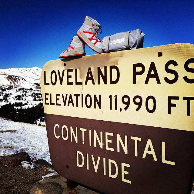 @pakems1 made a stop to #LovelandPass today.  #colorado #ski #snowboard