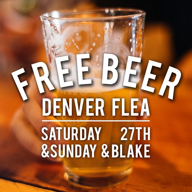 We're spending this weekend at Denver Flea. It's a free event with booze, live music, and some sweet vendors! If you're in the Mile High City this Saturday or Sunday, follow the link in our profile to RSVP and receive a FREE BEER at the event. We'll be...