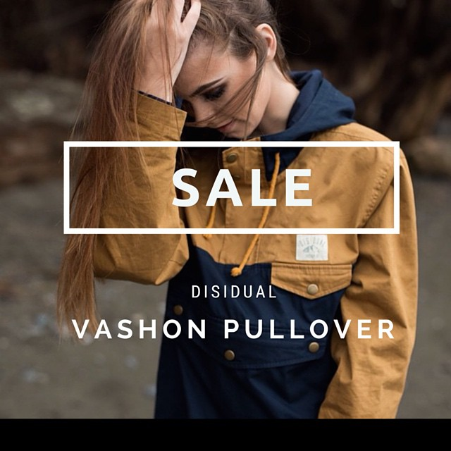 50% off the Vashon Pullover! Get at this light weight piece and stay comfortable throughout the cool summer nights and the seasons to come. Sale ends FRIDAY! #disidual #brokeandstoked #disiduallivin