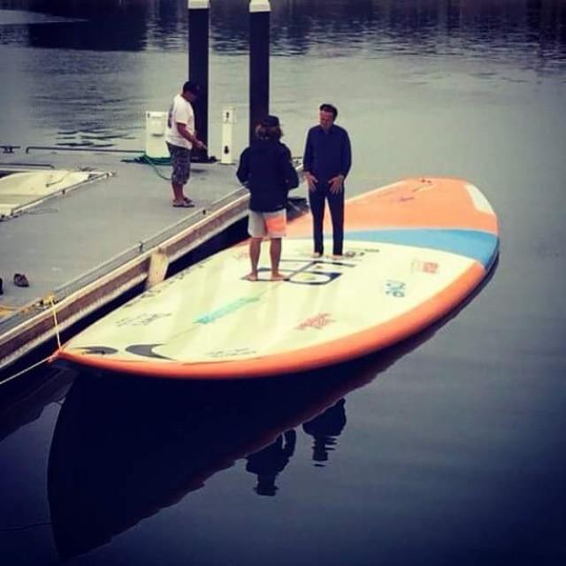 This board!  #revbalance #findyourbalance #balanceboards #madeinusa #mondoboard #huge #gobigorgohome #biggerisbetter #boardsports