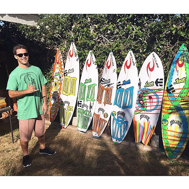 Mason Ho is headed to Ballito with his colorful quiver in tow.