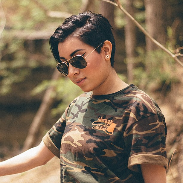 Throwback to our Spring '14 Collection with the Wattershed Tee. Available in limited quantities at concretenative.com #concretenative #tbt #throwbackthursday #camo #tee #workhard