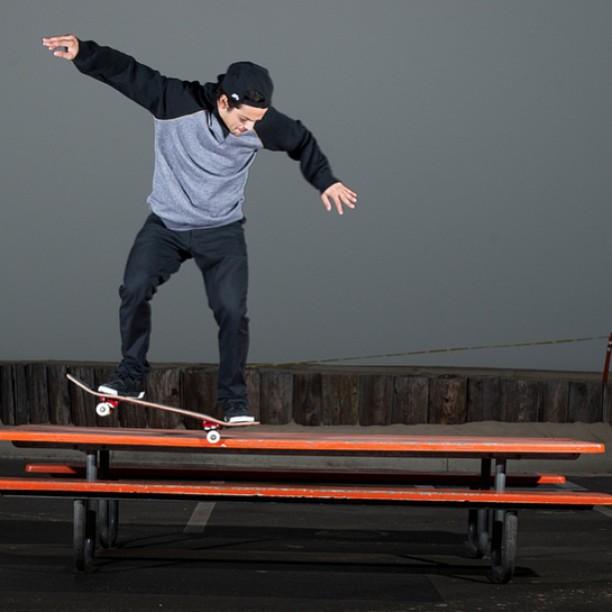 @prod84 rockin' it. #skate #skater #skateboard #skateboarding #proskater #skatetricks #switch #backside #nosegrind #streetskate #prod #paulrodriguez #citylife #sk8 #determination #inspiration #motivation #success #stoked #stokedorg #stokedhero