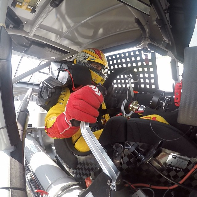 Good luck to @joeylogano at this weekend's @nascar event @racesonoma! Follow him for exclusive behind the scenes racing action. #Nascar #GoPro #Auto #Racing