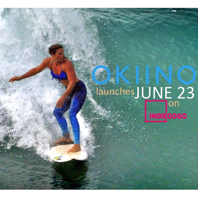 OKIINO launches in less than 1 HOUR at 9AM PST on @indiegogo - stay tuned we'll be sharing the link shortly and early birds will catch a special offer!  #seastreetstudio #pantswithpurpose #surfleggings #surf #yogaleggings #yoga #sup #streetwear...