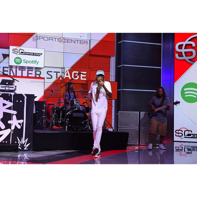 @mistercap showed out on SportsCenter today!  Click the link on our profile page to check out his full performance. (