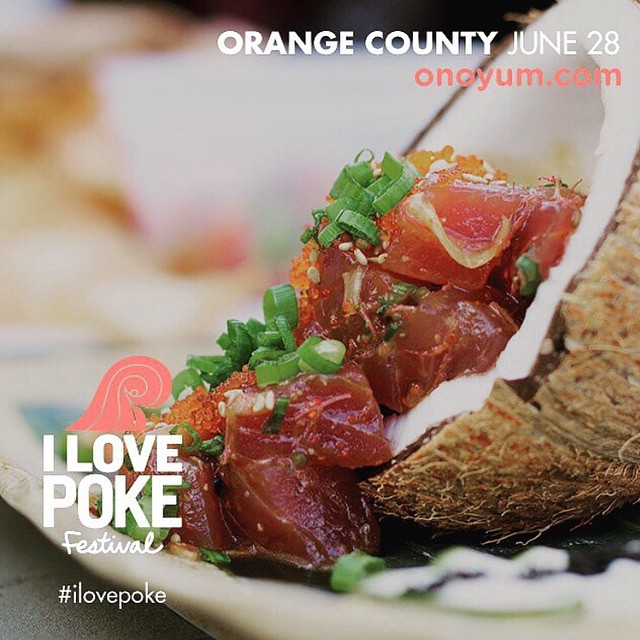 The #ILovePoke Festival is happening THIS SUNDAY in Orange County and I'm going to be one of the guest judges! • If you wanna taste some of THE BEST poke around Southern California, you're not gonna wanna miss this event... also because there's going...
