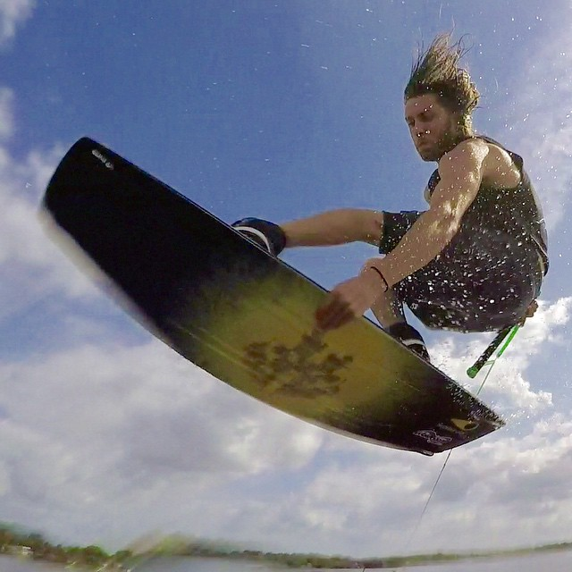 @bobsichel knows how to have a good time #wakeboarding