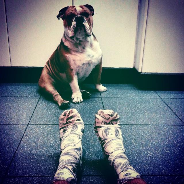 Can't buy me love... #Gotcha #socks