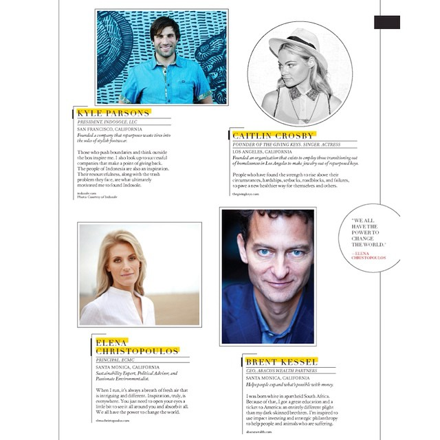 "Our very own Kyle Parsons was included in this month's @originmagazine ""100 Artists, Innovators, Creatives: On Inspiration"""