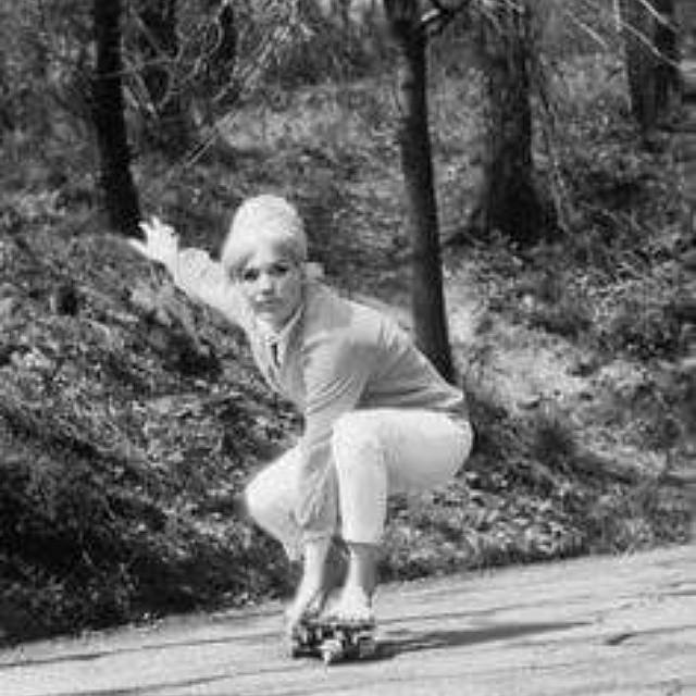 #flashbackfriday of a pretty amazing woman rider #pattimcgee #ogbetty #revbalance #findyourbalance #femaleriders #progression #historyinthemaking