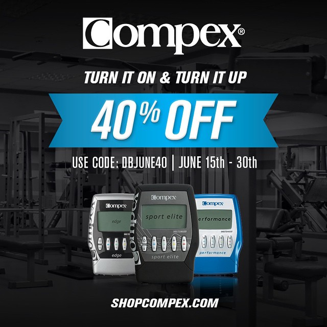 Get it while you can. @compexusa  is having a sale 40% off. I use them to help with my training and my recovery from injuries. Perfect for my Moto friends