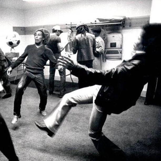 Bob & Jimi :: circa way back when