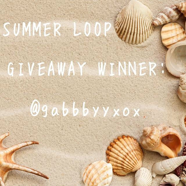 Congratulations to our Summer Loop Giveaway winner @gabbbyyxox! Thank you to everyone who participated!! For those of you who did not win, receive 20% off + free shipping when you use the code SUMMERSHADES at checkout. Now until July 4th! #SOLOeyewear...
