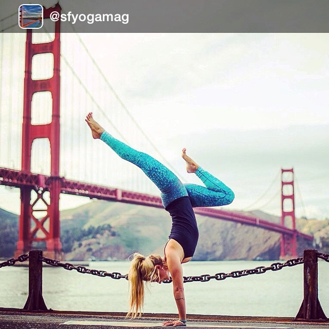 Thanks to everyone who is reposting our photos!  We are feeling the LoVE!  Please check out @sfyogamag - building an online community for all things yoga in San Francisco: Culture.Community.Consciousness Yoga teachers: email your profiles and SF Yoga...